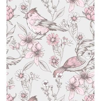 Tapeta ptaszki wśród kwiatów