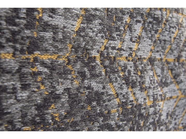 Dywan Nowoczesny Czarno Złoty - Broadway Glitter 8422 Dywany Bawełna Prostokątny Poliester Kolor Czarny
