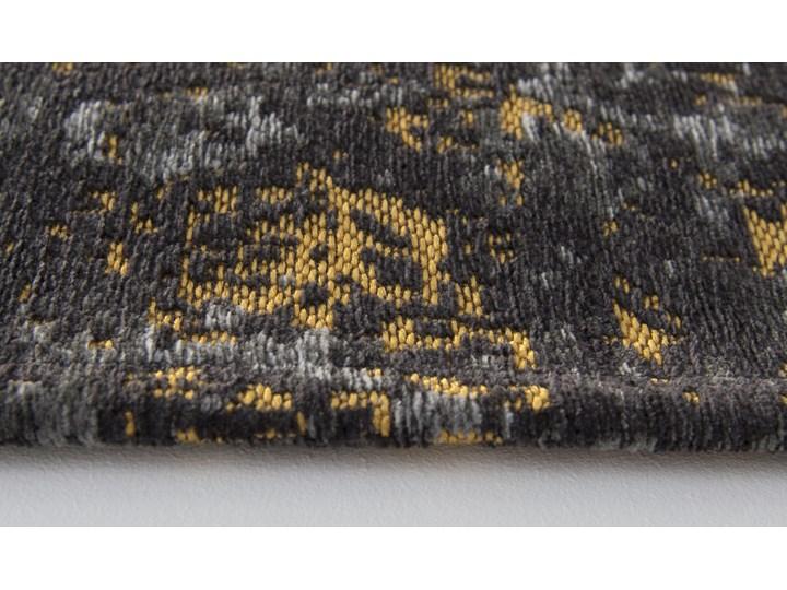 Dywan Nowoczesny Czarno Złoty - Broadway Glitter 8422 Poliester Prostokątny Dywany Bawełna Pomieszczenie Salon