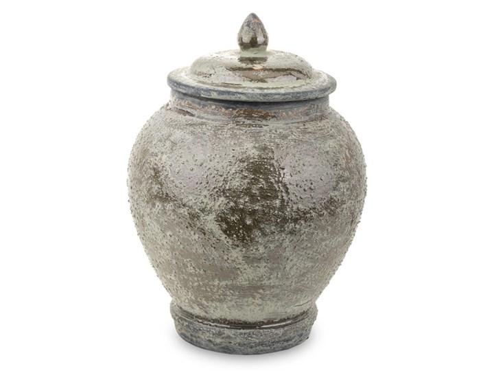 POJEMNIK CERAMICZNY SZARY PATYNOWANY ANDALUZJA 32x21x21CM Typ Pojemniki Ceramika Kategoria Pojemniki i puszki