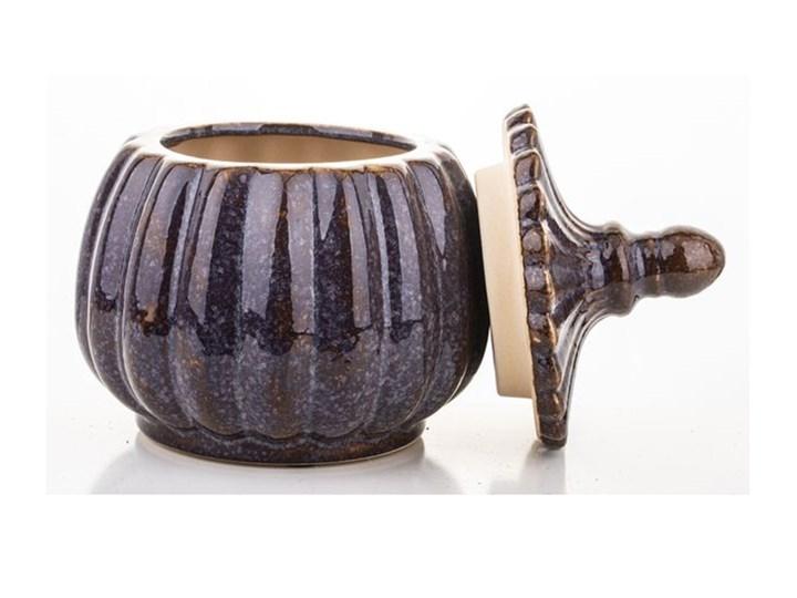 POJEMNIK CERAMICZNY OKRĄGŁY SZKLIWIONY WYBIERZ ROZMIAR OLA  18x13x13 Ceramika Typ Pojemniki Kategoria Pojemniki i puszki