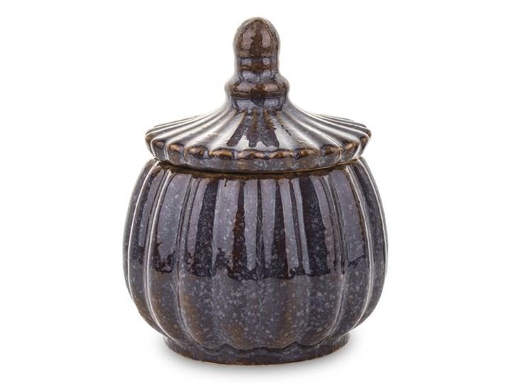 POJEMNIK CERAMICZNY OKRĄGŁY SZKLIWIONY WYBIERZ ROZMIAR OLA  18x13x13 Ceramika Kategoria Pojemniki i puszki Typ Pojemniki