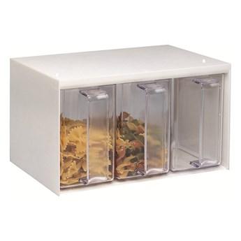 4-częściowy pojemnik na produkty sypkie Westmark Roma