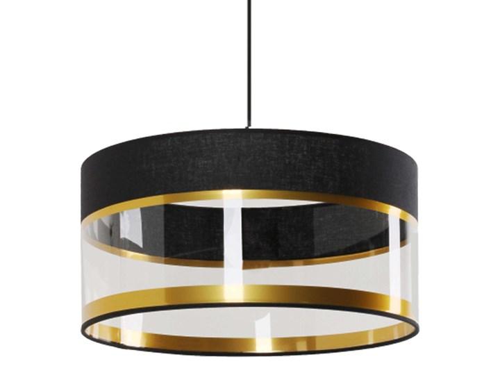 Lampa wisząca Elia Tworzywo sztuczne Metal Lampa z kloszem Styl Nowoczesny