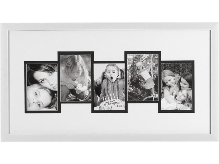 Ramka do zdjęć 33x63 Retto biała Tworzywo sztuczne Multiramka Kategoria Ramy i ramki na zdjęcia Pomieszczenie Sypialnia