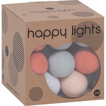 Lampki Happy Lights waniliowe z nutą pomarańczy