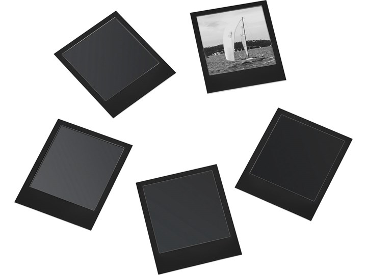 Ramki magnetyczne do zdjęć kpl 5 szt. Metal Multiramka Pomieszczenie Sypialnia