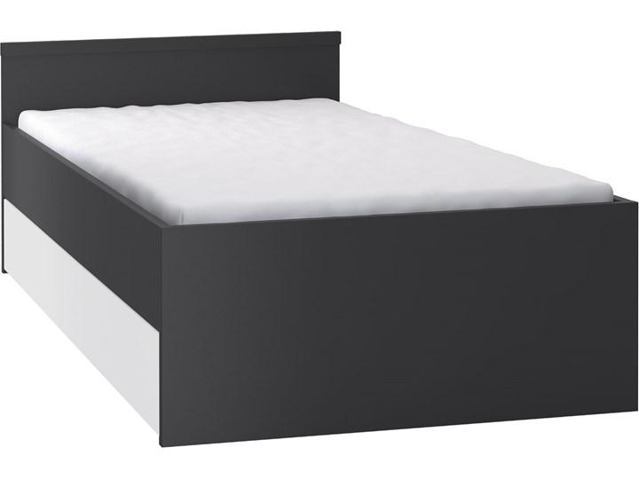 Łóżko  z łóżkiem dolnym i maskownicą Rozmiar materaca 90x200 cm Płyta meblowa Tradycyjne Kategoria Łóżka dla dzieci
