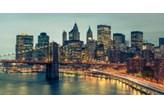 Fototapeta F2337 - Oświetlony Manhattan nocą