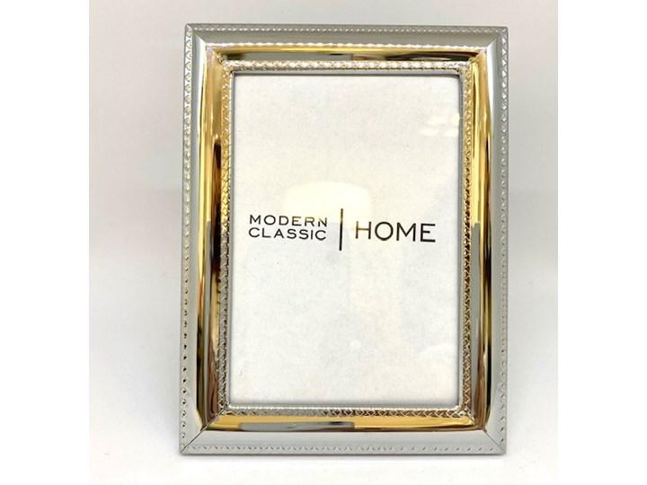 POPIERSIE DEKORACYJNE BIAŁE ATENA 8x7x28CM Metal Ramka na zdjęcia Kolor Srebrny Rozmiar zdjęcia 10x15 cm