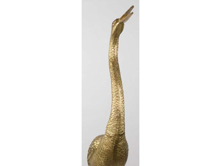 Posąg A Tall Handsom Mosiądz Metal Kategoria Figury i rzeźby Ptaki Kolor Złoty