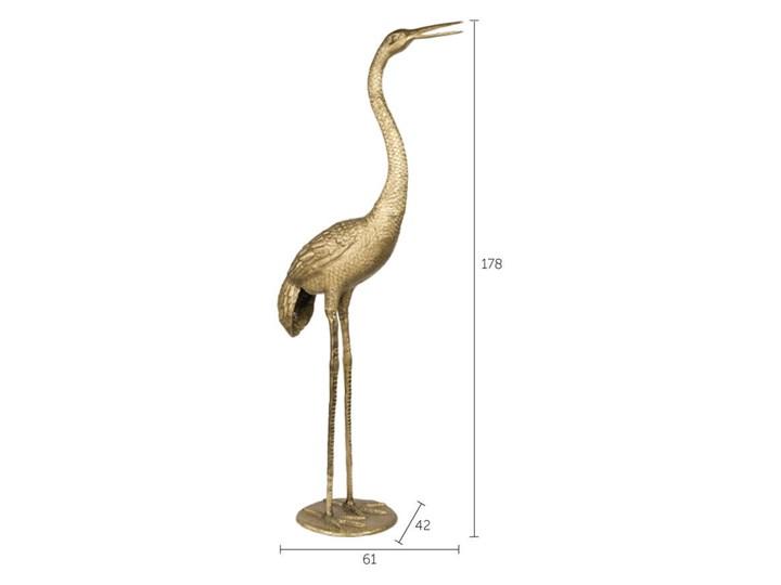 Posąg A Tall Handsom Kategoria Figury i rzeźby Metal Mosiądz Ptaki Kolor Złoty