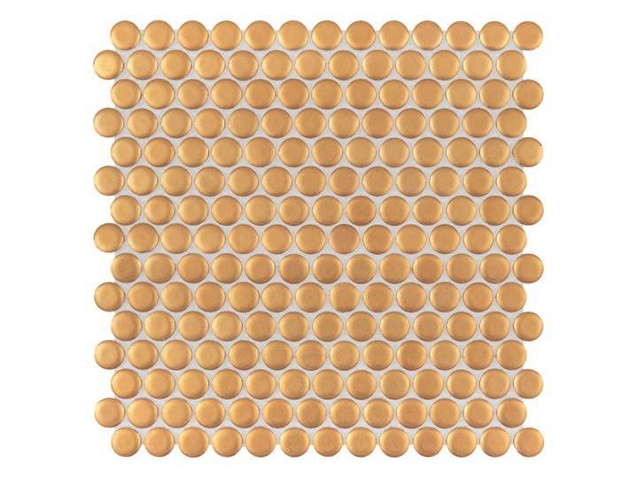 Miss Penny Gold matt 27,2x27,5 mozaika gresowa