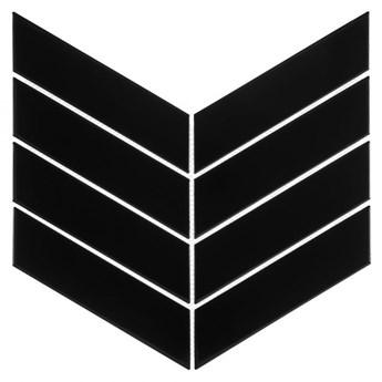 Royal Chevron Black 31,8x22,4 płytka ścienna