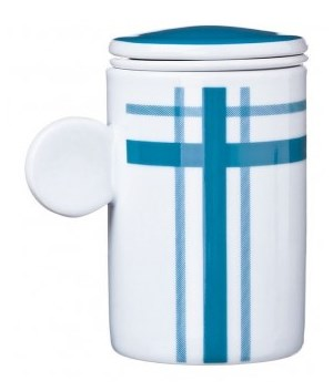 Kubek do zaparzania herbaty - Benetton - Scudo blue