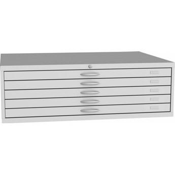 Szafka z szufladami na wykresy A0, 5 szuflad
