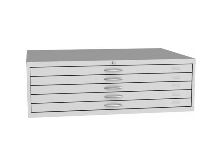 Szafka z szufladami na wykresy A0, 5 szuflad Stal Metal Kategoria Szafki i regały
