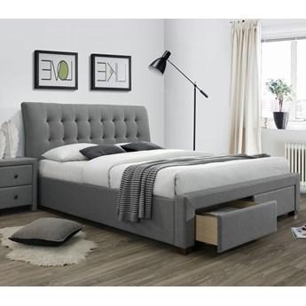 Łóżko PERCY 160 Popiel Halmar
