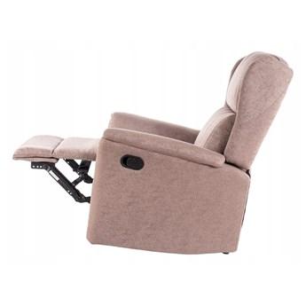 Fotel Rozkładany ZEUS Beżowy Signal