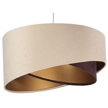 Beżowo-złota lampa wisząca nad stół - EX977-Ariani