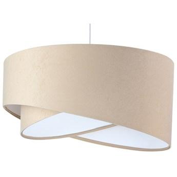 Beżowo-biała lampa wisząca nad stół - EX982-Sonelo