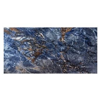 Gres polerowany Ninan Ceramstic 60 x 120 cm niebieski 1,44 m2