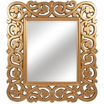 LUSTRO ARIADNA złota rama prostokąt 90X100 kolor: złoty, Materiał: poliuretan, rozmiar ramy: 90/100, rozmiar lustra: 51/62, EAN: 5903949790481