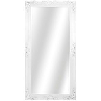 LUSTRO DISCORDIA biała błyszcząca rama prostokąt 135X256 kolor: białe, Materiał: poliuretan, rozmiar ramy: 135/256/10, rozmiar lustra: 96,5/218, EAN: 5903949790917