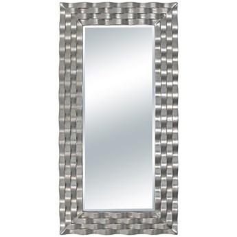LUSTRO DOLCE w srebrnej ramie prostokąt 76X152 kolor: srebrny, Materiał: poliuretan, rozmiar ramy: 76/152/5, rozmiar lustra: 48/124, EAN: 5903949790719