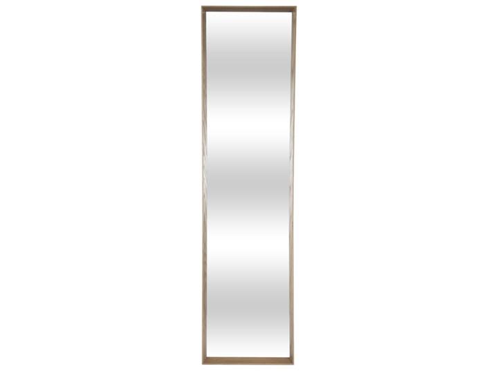 LUSTRO TEAK prostokątne drewno naturalne 32/124 Materiał: Drewno, rozmiar ramy: 32/124/5, rozmiar lustra: 29/121, EAN: 5903949790627