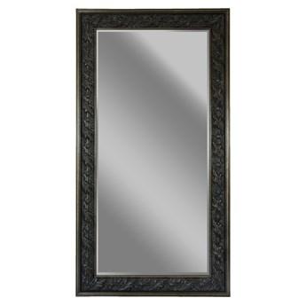 LUSTRO HEMI w antycznej ramie kolor: antyczne srebro, Materiał: Drewno, rozmiar ramy: 96/207/5, rozmiar lustra: 81/178, EAN: 5903949790955