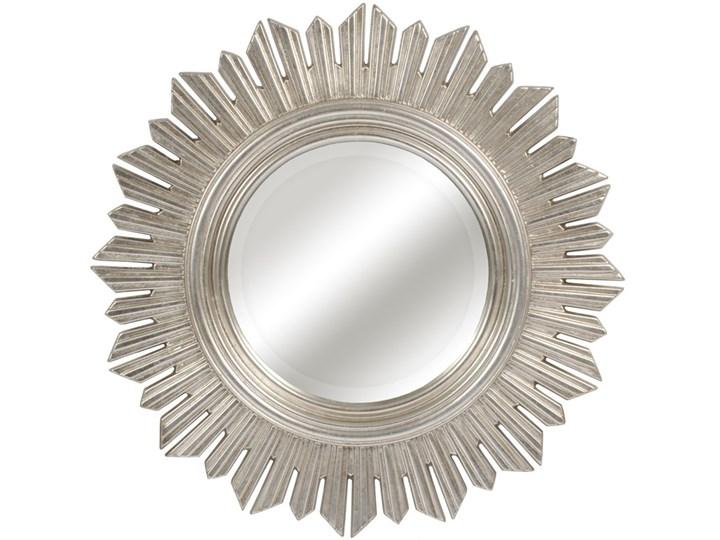 LUSTRO NIKE szampańskie srebro okrągłe FI 61 kolor: srebrny, Materiał: poliuretan, rozmiar ramy: 61/61, rozmiar lustra: 31,5/31,5, EAN: 5903949790467