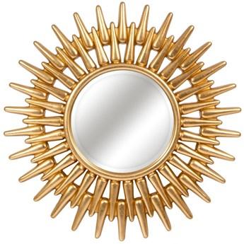 LUSTRO RE złote w ramie okrągłe FI 92 kolor: złoty, Materiał: poliuretan, rozmiar ramy: 92/92, rozmiar lustra: 42/42, EAN: 5903949790450