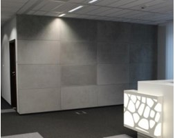 Płyta z betonu architektonicznego - BTB - antracyt - gładka