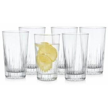 Zestaw 6 szklanek do napojów DUKA MINERAL 420 ml szkło