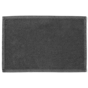 Dywanik łazienkowy Miekki 60x40 cm ciemnoszary