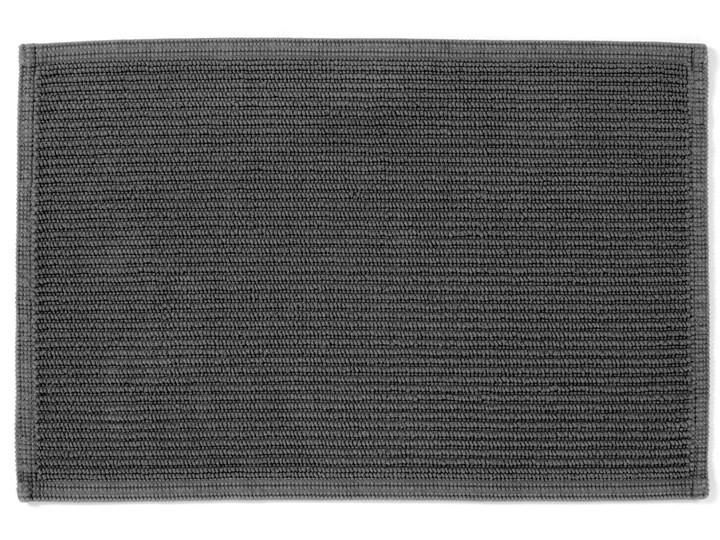 Dywanik łazienkowy Miekki 60x40 cm ciemnoszary Prostokątny 40x60 cm Kategoria Dywaniki łazienkowe