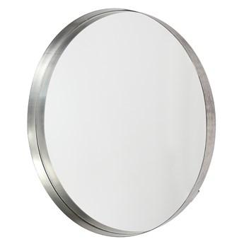 Lustro wiszące Raised Edge ∅75 cm srebrne