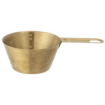 Miarka kuchenna Lisnak 200 ml stal nierdzewna złota
