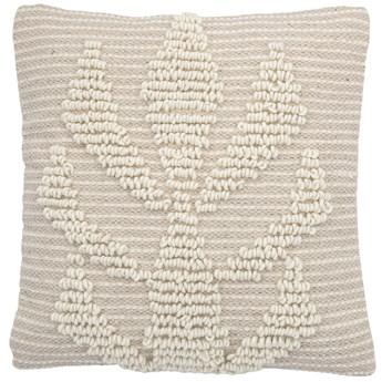 Poduszka dekoracyjna Brizla 40x40 cm naturalna