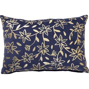 Poduszka dekoracyjna Suo 60x40 cm niebieska