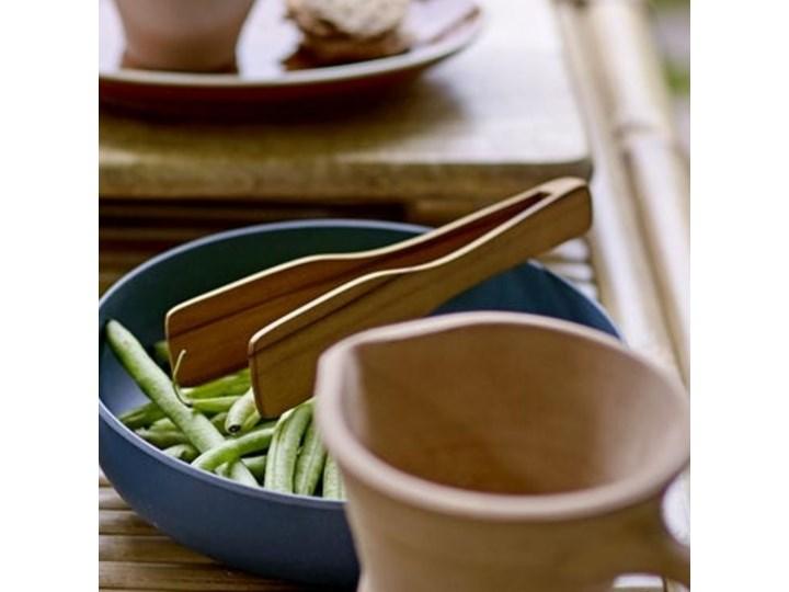Szczypce kuchenne Allurez 18 cm drewniane Szczypce uniwersalne Kolor Beżowy