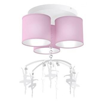 Lampa sufitowa BALETNICA PINK 3xE27 MLP4973 MiLAGRO MLP4973 ZADZWOŃ ZAPYTAJ O RABAT !