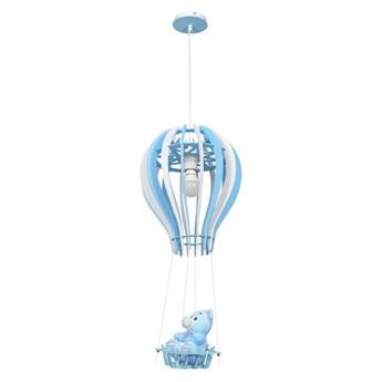Lampa wisząca BALONIK BLUE 1xE27 60W MLP6427 MiLAGRO MLP6427