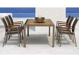 Miloo :: Stół szklany ogrodowy ANDALUZJA 150 X 88 X 75 cm.