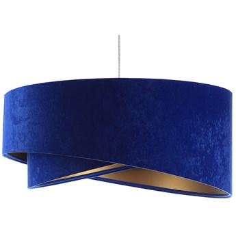 Niebiesko-złota lampa wisząca glamour - EX989-Tersa