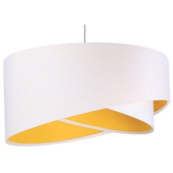 Biało-żółta nowoczesna lampa wisząca - EX990-Rezi