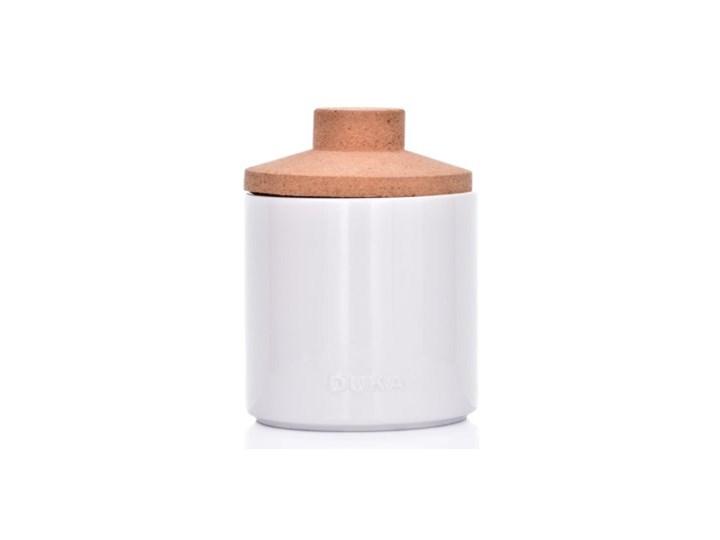 Pojemnik kuchenny słój DUKA VIT 800 ml biały porcelana Ceramika Typ Słoiki