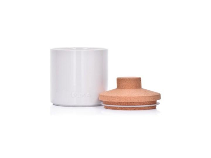 Pojemnik kuchenny słój DUKA VIT 800 ml biały porcelana Ceramika Typ Pojemniki