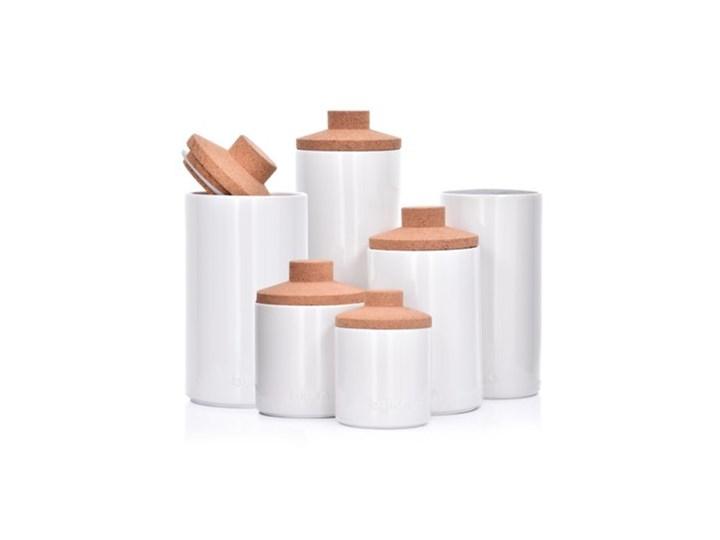 Pojemnik kuchenny słój DUKA VIT 800 ml biały porcelana Ceramika Kategoria Pojemniki i puszki